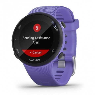 Couplez la Forerunner 45S à votre smartphone, et en cas d'incident, elle envoie une alerte à vos contacts d'urgence | 010-02156-10_1