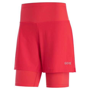 Cuissard de running technique Gore® Wear R5 2in1 Hibiscus Pink pour femme | 100623AK00_1