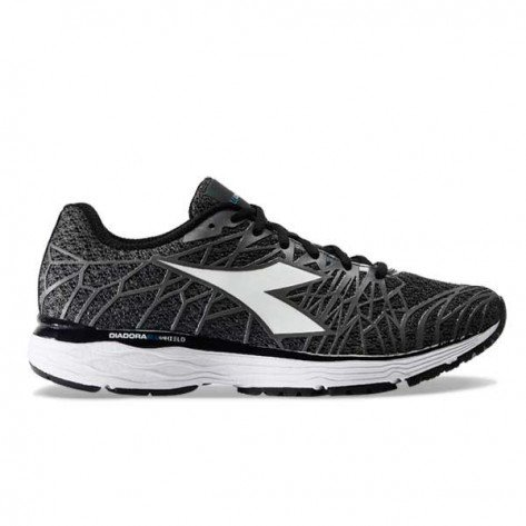 Chaussures de course Diadora Mythos Blushield Fly HIP 2 Steel Gray/Black pour homme | 101.174472-C2763_1