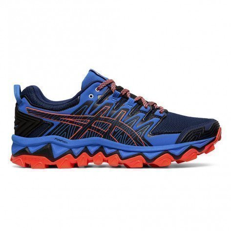 Chaussures de trail running Asics Gel-Fujitrabuco 7 Blue Expanse/Electric Blue pour homme   1011A197-400_1