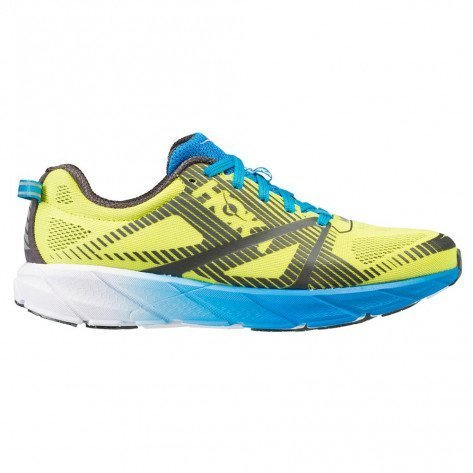 Hoka One One Tracer 2 Jaune Grise et Bleue pour Homme