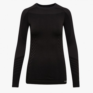 Tee-Shirt Manches Longues Diadora Advanced Noir pour Femme