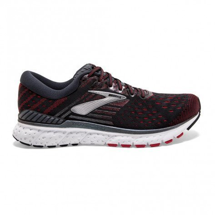 Chaussures de course Brooks Transcend 6 Black/Ebony/Red pour homme | 110299-021_1
