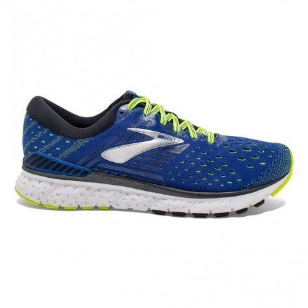 Chaussures de course Brooks Transcend 6 Blue/Black/Nightlife pour homme - 110299-419_1