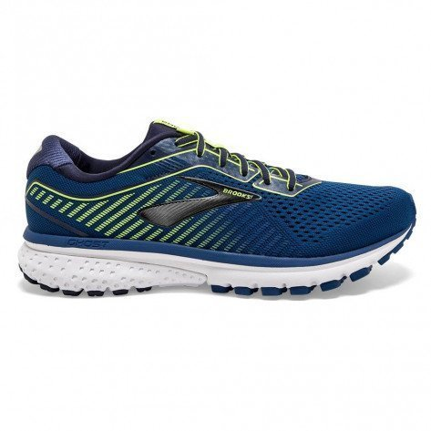 Chaussures de course Brooks Ghost 12 Blue/Navy/Nightlife pour homme | 110316-402_1