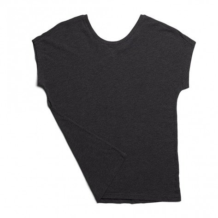 Tee-shirt de course On Comfort-T Black pour femme | 201.00021_1