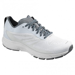 Chaussures de course Salomon Sonic Ra Pro 2 Blanc/Gris pour femme   406884_1