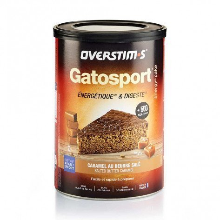 Gatosport Overstim's saveur Caramel au beurre salé | Boite de 400g