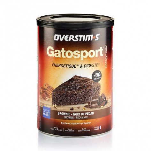 Gatosport Overstim's saveur Brownie-Noix de pécan | Boite de 400g