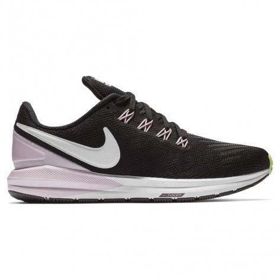 Chaussures entraînement running foulée pronatrice Nike Air Zoom Structure 22 Black/Vast Grey-Pink Foam pour femme | AA1640-004_1