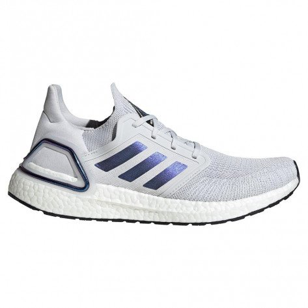 Chaussures running haute performance adidas Ultraboost 20 Dash Grey/Boost Blue Violet Met./Core Black pour homme | EG0695_1