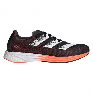 Chaussures de compétitions avec plaque carbone intégrée adidas adizero PRO M CORE BLACK / CLOUD WHITE / SIGNAL CORAL pour homme | FW9604_1