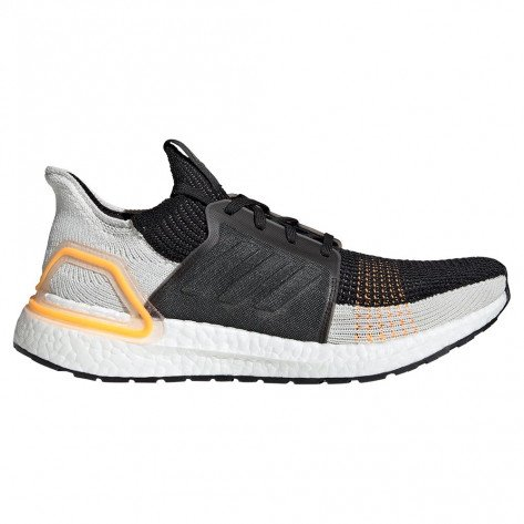 Chaussures d'entraînement running adidas Ultraboost 19 Trace Cargo / Raw White / Solar Red pour homme | G27514_1