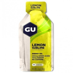 Gel énergétique GU Energy Gel saveur Citron intense en stick de 32g | 123172_1