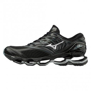 Chaussures de course Mizuno Wave Prophecy 8 Black/Silver/Sweather pour homme | J1GC1900-04_1