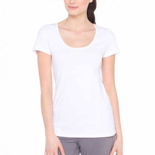 Lolë Tee-shirt Karen Blanc pour Femme