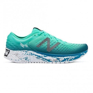 Chaussures de course New Balance 1080v9 Neon Emerald With Dark Neptune pour homme - M1080LN9-D_1
