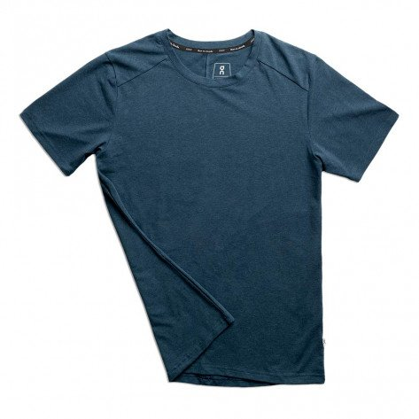 Tee-shirt haute qualité On Running On-T Navy pour homme | 101.00149_1