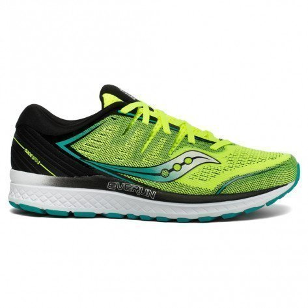 Chaussures de course Saucony Guide ISO 2 Citron/Black pour homme | S20464-37_1