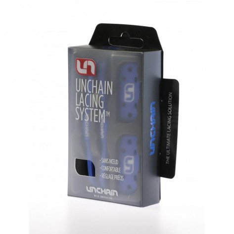 Unchain Lacing System Signal Blue