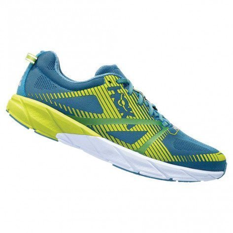 Chaussures de course Hoka One One Tracer 2 Storm Blue / Lime Green pour homme - 1016786-SBLG_1