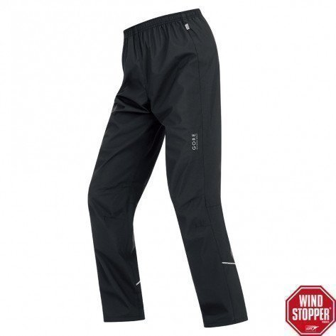 Pantalon Gore Running Wear Essential AS Windstopper Noir pour Homme