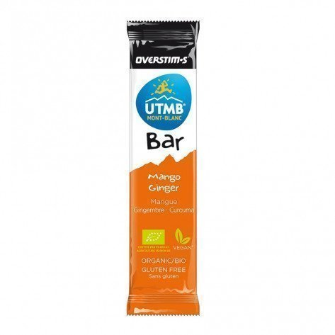 UTMB Bar Overstim's saveur Mangue-Gingembre-Curcuma | Barre de 32g