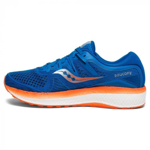 Saucony TRIUMPH ISO 5 Chaussures running Homme bleuorange