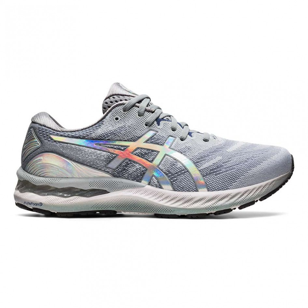 Chaussures running Asics Homme   Asics Gel-Nimbus 23 PLATINUM M ...