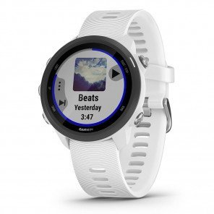 Montre GPS Garmin Forerunner 245 Music Blanche avec Bracelet Blanc