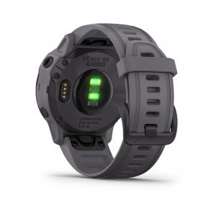 GARMIN fenix® 6S Pro Solar, Améthyste avec bracelet schiste
