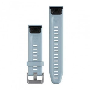 Bracelet Garmin QuickFit 20mm Silicone Bleu Lagon pour Fenix 5S/Fenix 6S