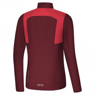 Maillot Gore Wear R5 Windstopper Rose et Rouge pour Femme