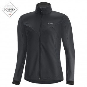 Veste de running coupe-vent et déperlante GORE® WEAR R5 GORE-TEX INFINIUM™ Black pour Femme | 100658-9900_1