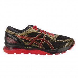 Chaussures de course Asics Gel-Nimbus 21 Black/Classic Red pour homme - 1011A257-001_1