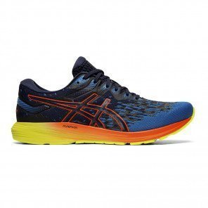 Asics Dynaflyte 4 Peacoat/Flash Coral pour homme | 1011A549-400_1