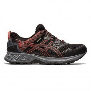 Chaussures trail running imperméable avec une bonne adhérence Asics Gel-Sonoma 5 G-TX Black/Dired Rose pour femme | 1012A567-002_1