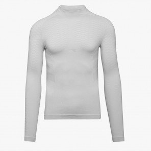 Maillot de corps à manches longues Diadora Turtle Neck Active Optic White pour homme | 102.173443_20002_1