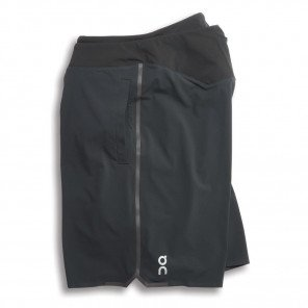 Short 2-en-1 On Hybrid Shorts Noir pour Homme