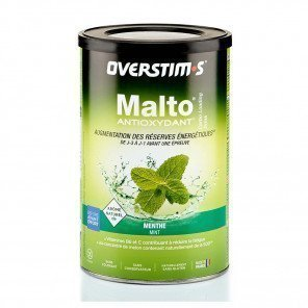 Malto Antioxydant Overstim's saveur Menthe | Boite de 500g