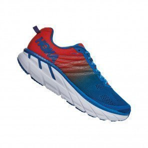 Hoka One One Clifton 6 Bleue et Orange pour Homme