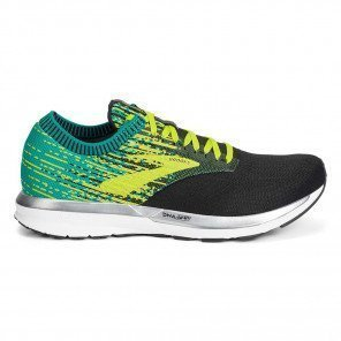 Chaussures de course Brooks Ricochet Black/Green/Yellow pour homme | 110293-071_1