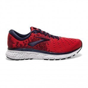 Chaussures entraînement universelle longue distance Brooks Glycerin 17 Red/Biking Red/Peacoat pour homme | 110296-683_1