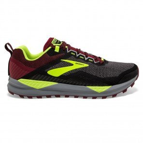 Chaussures de trail running Brooks Cascadia 14 Black/Red/Nightlife pour homme | 110310-031_1