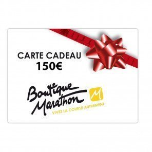 Carte cadeau 150€ valable chez Boutique Marathon
