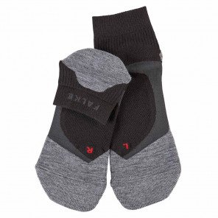 Chaussettes Falke RU4 Cool Short Noires et Grises pour Femme