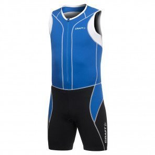 Craft Tri Fonction Triathlon Suit Bleue et Noire pour Homme