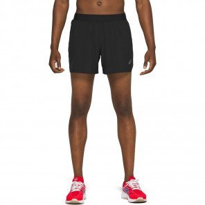 Short de running mi-long ASICS RAOD 5IN SHORT Performance Black pour homme | 2011A769-001_1