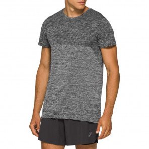 Tee-shirt-technique de running Asics Race Seamless SS Performance Black pour homme | 2011A784-001_1