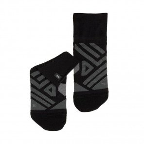 Chaussette Homme On Mid Sock Black/Shadow